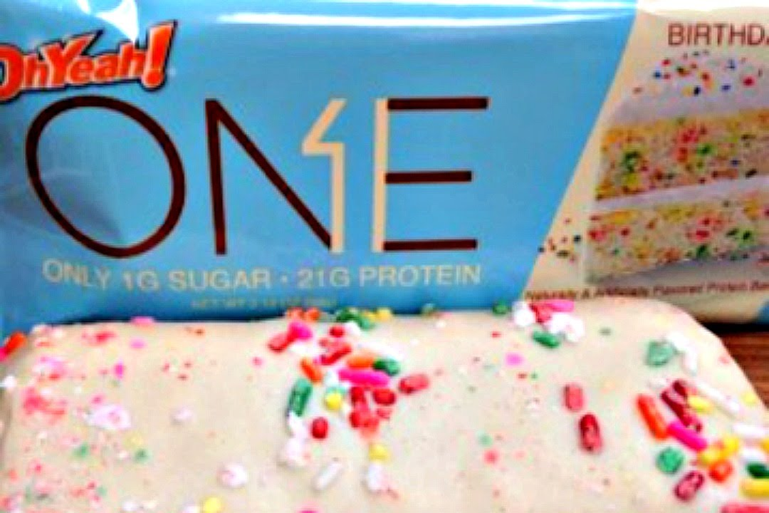 Oh Yeah Birthday Cake Protein Bar Review Youtube