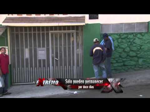 La casa del migrante en tijuana youtube for Mural de la casa del migrante