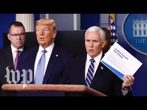 WATCH: Trump's White House Coronavirus Task Force Gives Update - 3/22 (FULL LIVE STREAM)