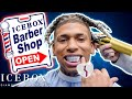 NLE Choppa Drops $100k While Getting Haircut at Icebox!