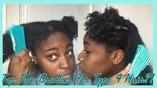 Felicia Leatherwood vs EZ Detangling Brush | Best Brushes For Type 4 Hair?