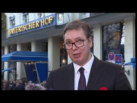 Vučić u Minhenu na Bezbednosnoj konferenciji sa svetskim zvaničnicima