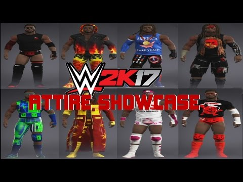 WWE 2k17 || ATTIRE SHOWCASE (33 Attires)