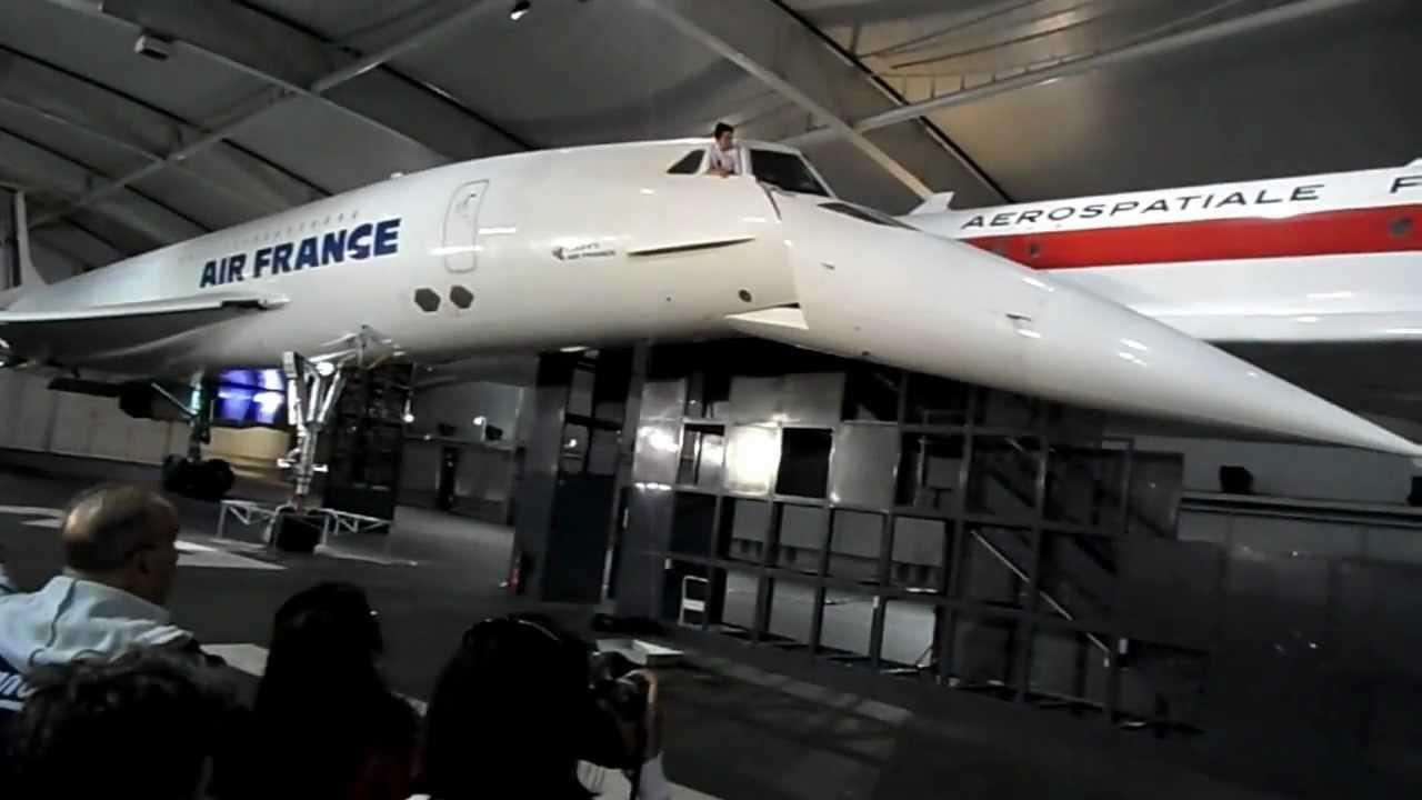 Car Cockpit Wallpaper Air France Concorde Nose Droop Mise Sous Tension Du