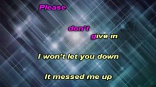 Adam Lambert - Whataya want from me karaoke