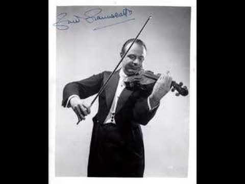 Zino Francescatti - Saint-Saëns Violin Concerto #3 (1st mov)