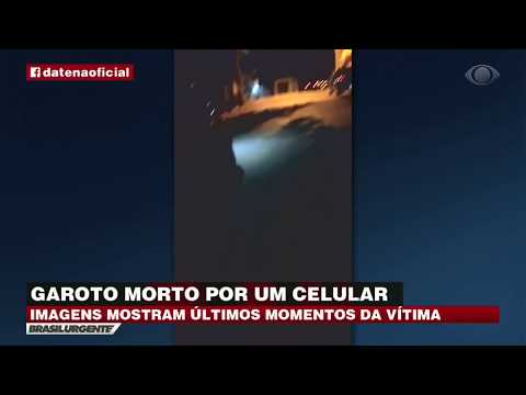 SP: Estudante é morto por causa de celular