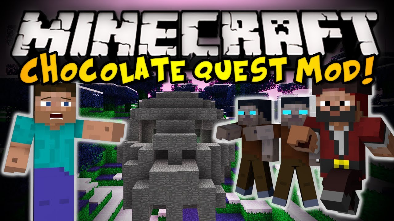 Minecraft: Chocolate Quest Mod - INSANE DUNGEONS, BOSSES, NEW ITEMS, &  MORE! (HD)
