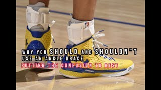 Are Ankle Braces GOOD or BAD?! The Scientific Answer! Putting the confusion to rest!
