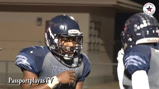 Repeat youtube video Najee Harris : Freedom vs Antioch - RB Ronnie Rivers Has CRAZY night... 7 TD's