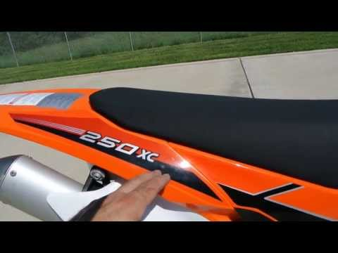 $8,299:  2014 KTM 250 XC  Electric Start 2 Stroke Overview and Review!