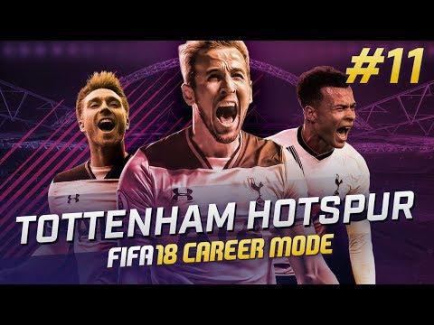 FIFA 18 TOTTENHAM CAREER MODE Ep11 - INCONSISTENT FORM!
