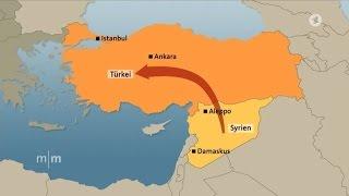 Gesamter Fluchtweg von Syrien nach Deutschland