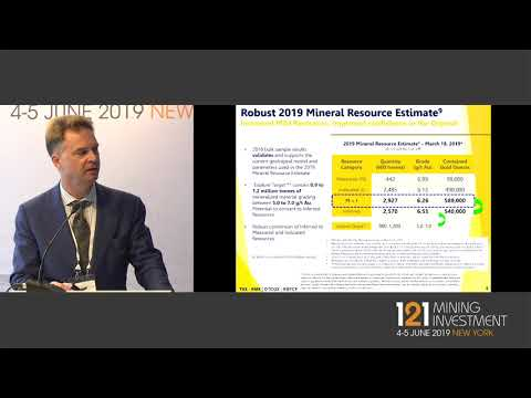 Presentation: Rubicon Minerals - 121 Mining Investment New York 2019 Spring