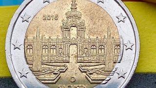 2 euro 2016 Germany Defect error