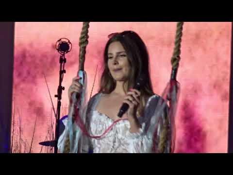 Lana Del Rey -  Games  in Malahide Dublin 22nd June 2019