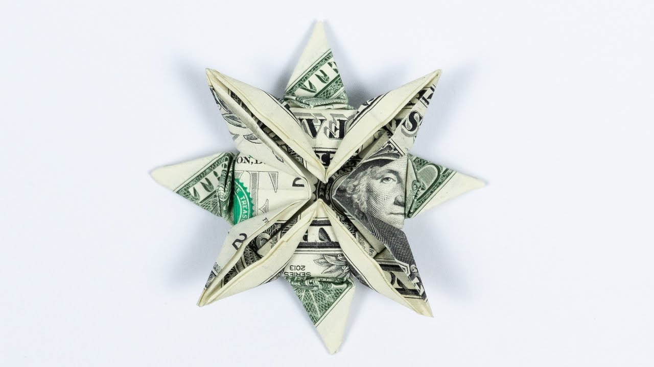 Dollar Bill Origami Christmas Tree - Buy this stock photo and ... | 720x1280