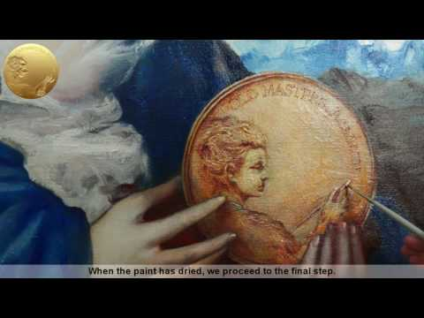 How to Paint Metal Objects in Oil - Allegory of Painting