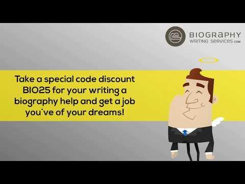 how to write a company bio