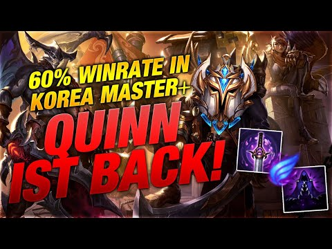 60% WINRATE IN KOREA!!! Quinn ist back baby! [League of Legends] thumbnail