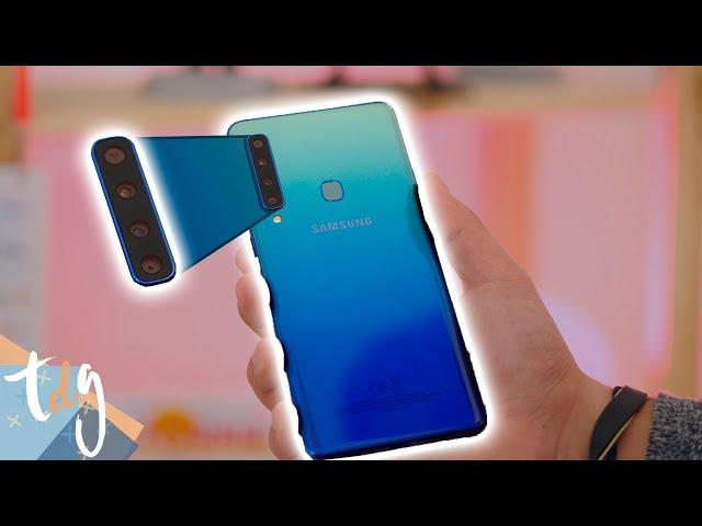 ¿MÁS cámaras es MEJOR? Samsung Galaxy A9 review