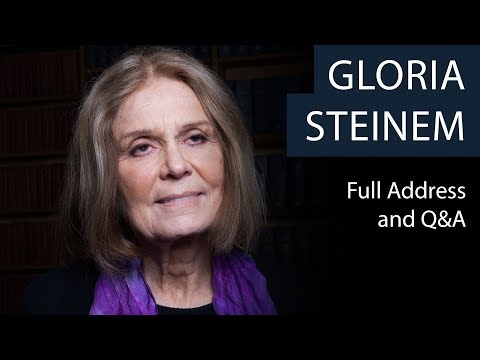 Gloria Steinem | Full Address and Q&A | Oxford Union