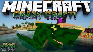 """Trapping The Basilisk!"" - CRAZY CRAFT (MINECRAFT MODDED SURVIVAL) - #18"