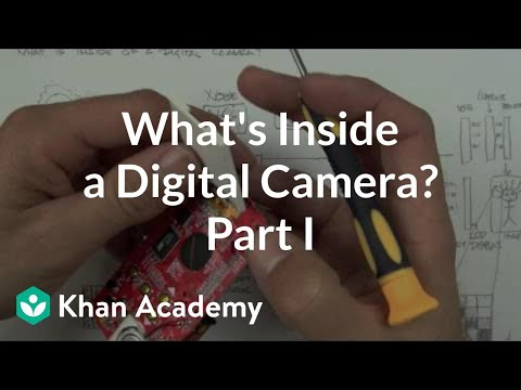 What is inside a digital camera? (1 of 2) | Electrical engineering | Khan Academy