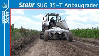 Stehr Wegebaugrader SUG 35-T und Plattenverdichter