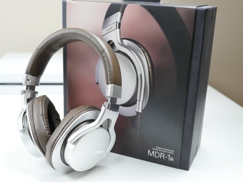 BEST Sony Headphones! MDR-1R Review