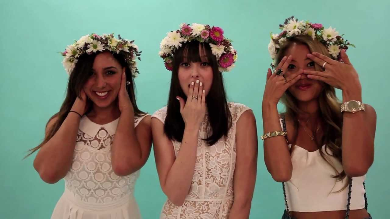 Lessons from the pros flower crowns youtube izmirmasajfo