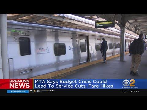 MTA Says Budget Crisis May Cause Service Cuts