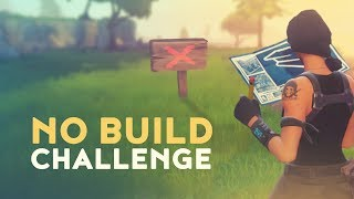 NO BUILD CHALLENGE (Fortnite Battle Royale)