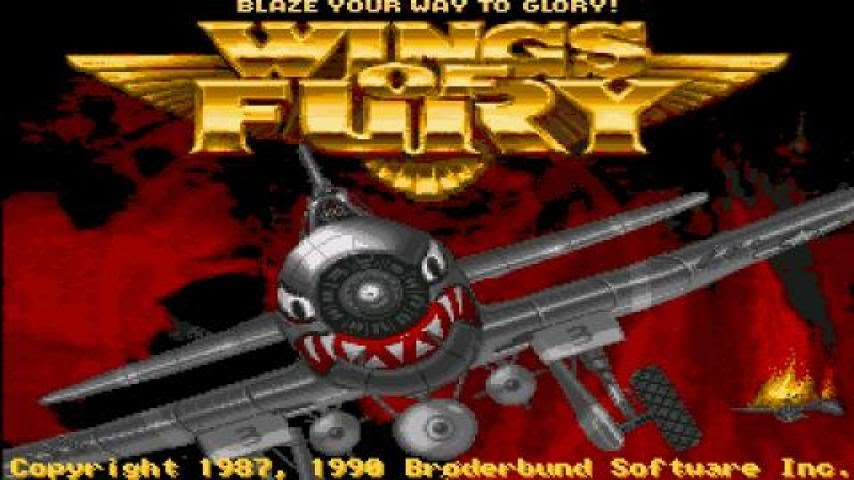 Wings Of Fury Gameplay Pc Game 1987 Youtube