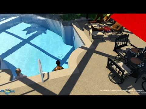 Viera Builders - Montgomery Model # 1 by Blue Marlin Pools ©