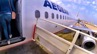 Aegean Airlines ECONOMY Flight Experience: Athens to Belgrade, Airbus A320