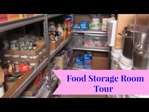 Food Storage Room Tour