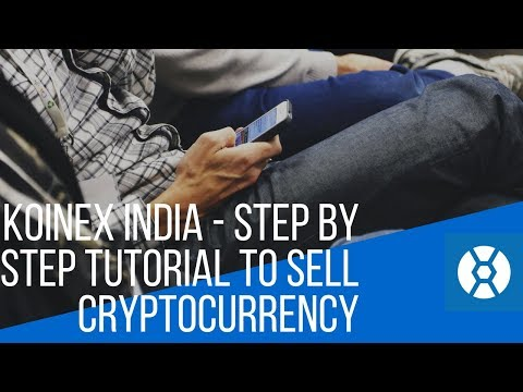 Koinex Tutorial - How To Sell Cryptocurrency On Koinex?
