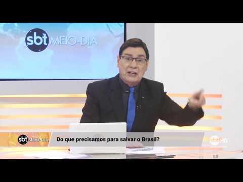 """Luiz Carlos Prates: """"Do que precisamos pra salvar o Brasil?"""""""