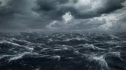 Stürmische Ostsee: 5 Stunden Meeresrauschen mit Regen und Gewitter