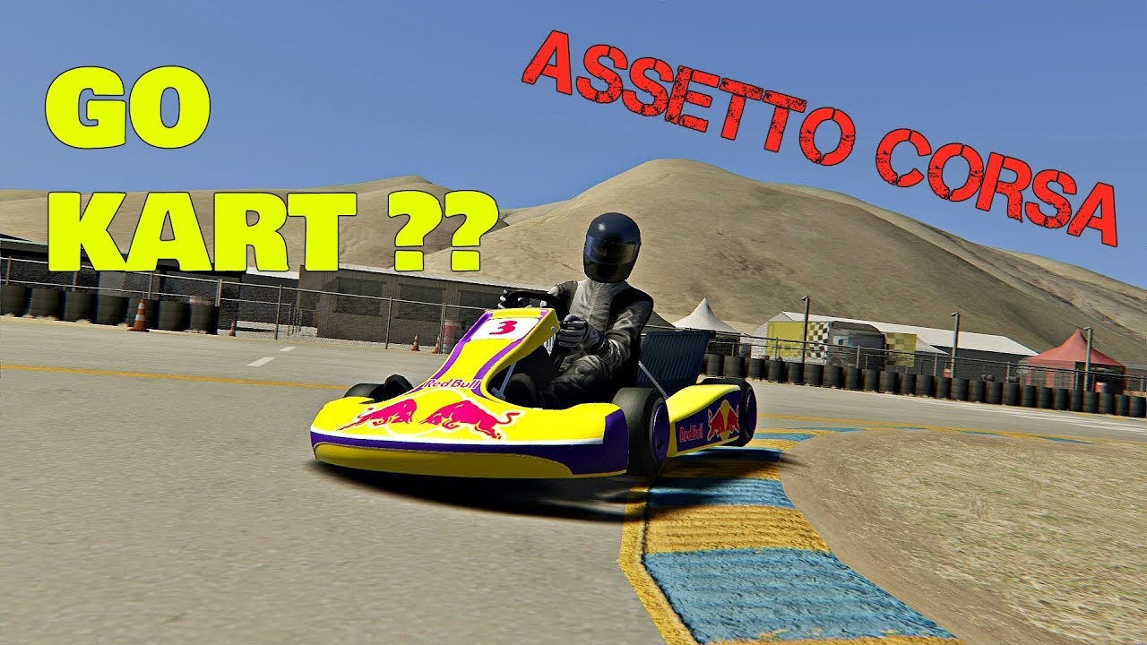 Assetto Corsa Mods - Go Kart Racing ?? [ Wheel Cam ]