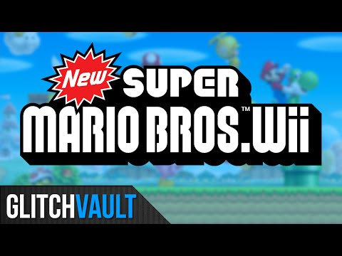New Super Mario Bros. Wii Glitches And Tricks!