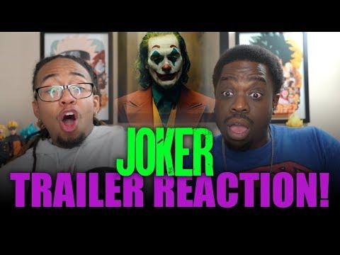 Yo this Actually Looks FIRE! JOKER Trailer Reaction!