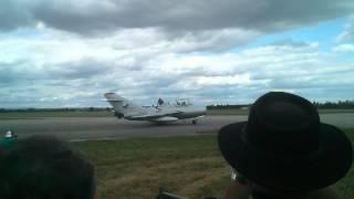 MiG-15 CIAF 2015 before take off