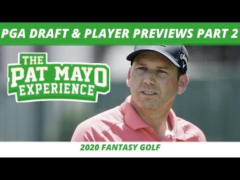 2020 PGA Tour Player Previews And Draft - PGA Picks And Fantasy Golf Predictions Part 2