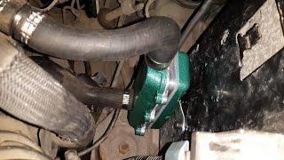 Подогрев с моторчиком двигателя на Opel Vivaro 2.0 CDTi(Сайт СТО
