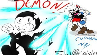 THE DEMON! Cuphead Comics & Bendy And The Ink Machine Animations Compilation