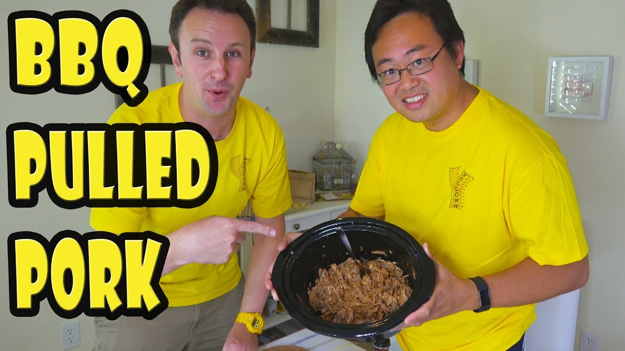 how to make pulled pork in crock pot