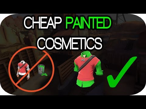 WHERE TO BUY PAINTED ITEMS FOR CHEAPER! [TF2]