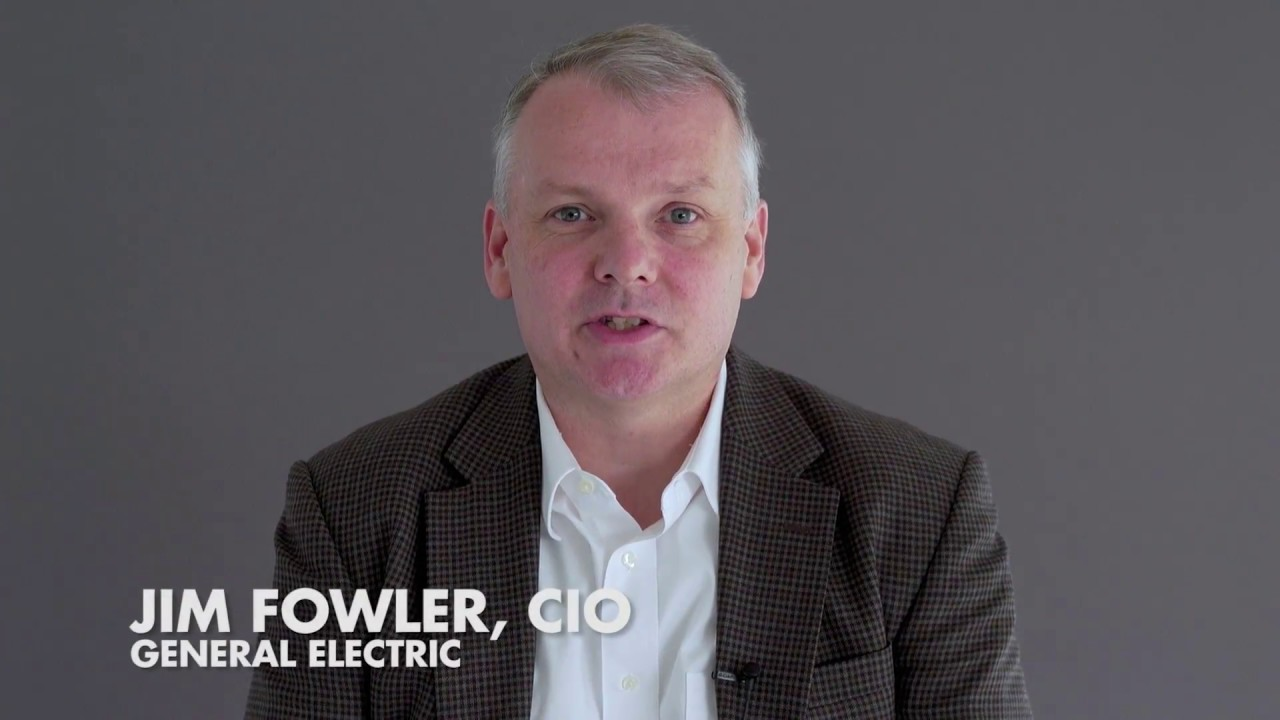 Ideas Made to Matter: General Electric CIO Jim Fowler